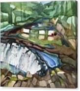 Bronx River Falls Canvas Print