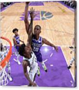 Brooklyn Nets V Sacramento Kings Canvas Print