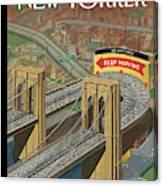 Brooklyn Or Bust Canvas Print