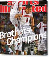 Brothers, Champions Louisville Wins National Championship Sports Illustrated Cover Canvas Print
