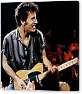 Bruce Springsteen Live Canvas Print
