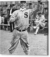 Buck Weaver Is Ready To Catch A Ball Canvas Print