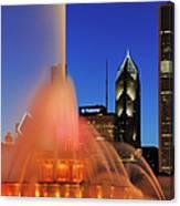 Buckingham Fountain, Chicago Canvas Print