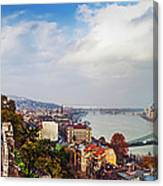 Budapest - Sweeping View Canvas Print
