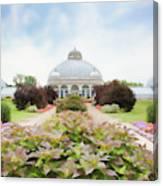 Buffalo Botanic Gardens Conservatory Canvas Print