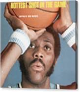 Buffalo Braves Bob Mcadoo Sports Illustrated Cover Canvas Print