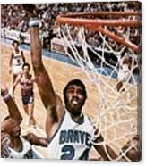 Buffalo Braves Garfield Heard, 1975 Nba Eastern Conference Sports Illustrated Cover Canvas Print