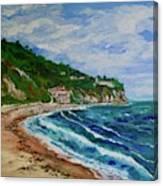 Burnout Beach, Redondo Beach California Canvas Print