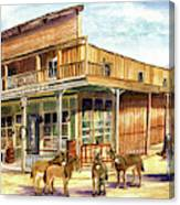 Burros Are Back In Town Canvas Print