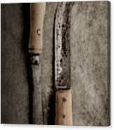 Butcher Knives Canvas Print
