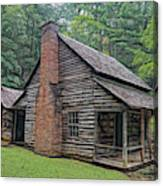 Cabin In The Woods - Fractals Canvas Print