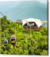 Cable Car On Langkawi Island, Malaysia Canvas Print