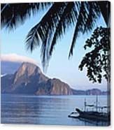 Cadlao Island From El Nido, Sunrise Canvas Print