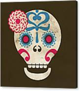 Calaca Canvas Print