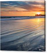 California Sunset V Canvas Print