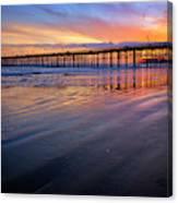 California Sunset Vii Canvas Print
