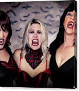 Call Of The Vampires Women Canvas Print