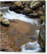 Calming Water Sounds - North Carolina Canvas Print