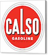 Calso Sign Canvas Print