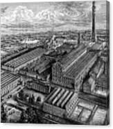 Camperdown Linen Works, Dundee, C1880 Canvas Print