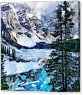 Canada, Alberta - 07 Canvas Print