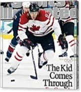 Canada Sidney Crosby, 2010 Winter Olympics Sports Illustrated Cover Canvas Print