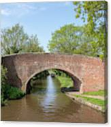 Canal Bridge 56 Canvas Print