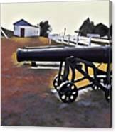Cannon - Victoria Park Pei Canvas Print
