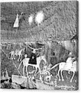 Canyon De Chelley Pictographs Canvas Print