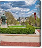 Capitol - Madison - Wisconsin From Bascom Hall Canvas Print