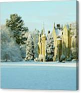 Carberry Tower In Late Afternoon Sunshine Canvas Print