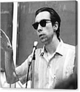 Carl Oglesby Speech In Michigan Canvas Print