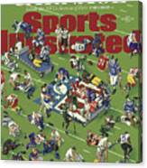 Carnage Inside The Nfls Season Of Pain Sports Illustrated Cover Canvas Print