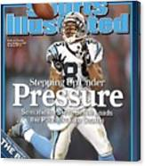 Carolina Panthers Steve Smith, 2006 Nfc Divisional Playoffs Sports Illustrated Cover Canvas Print