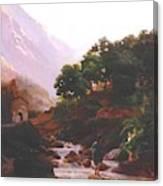 Carrara Canvas Print
