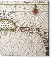 Carribean Islands Canvas Print