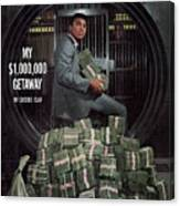 Cassius Clay, Heavyweight Boxing Sports Illustrated Cover Canvas Print