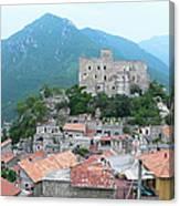Castelvecchio Di Rocca Barbena Canvas Print