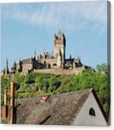 Castle At Cochem In Germany Canvas Print