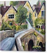 Castle Combe Canvas Print