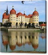 Castle Moritzburg  Canvas Print