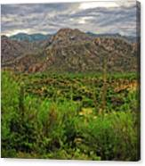 Catalina Foothills H1130 Canvas Print