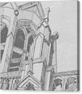 Cathedral Helena Montana Canvas Print