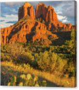 Cathedral Rock, Coconino National Canvas Print