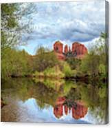Cathedral Rock Reflection Canvas Print
