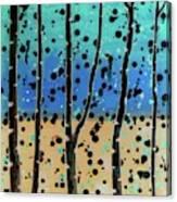 Celebration - Abstract Landscape  Canvas Print