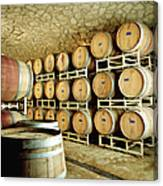 Cellar In Winery Canvas Print