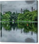 Central Park Reflections Canvas Print