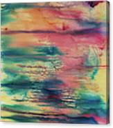 Central Park Sunset Canvas Print
