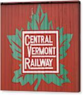 Central Vermont Railway Canvas Print